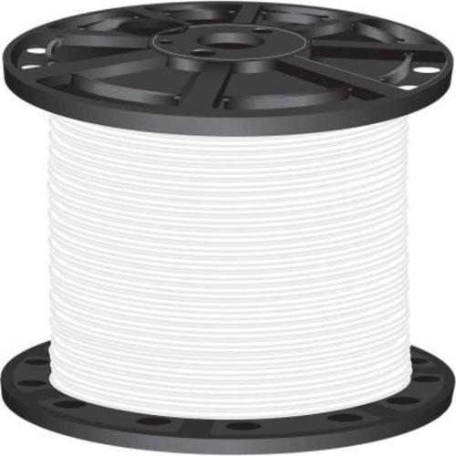 Southwire 2,500 ft. 4 White Stranded CU SIMpull THHN Wire