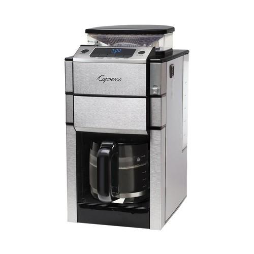 Capresso - 12-Cup Coffeemaker - Stainless steel