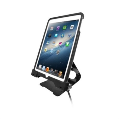 CTA Digital Anti-Theft Security Case with Stand for iPad Air and iPad Air 2 (PAD-ASCS)