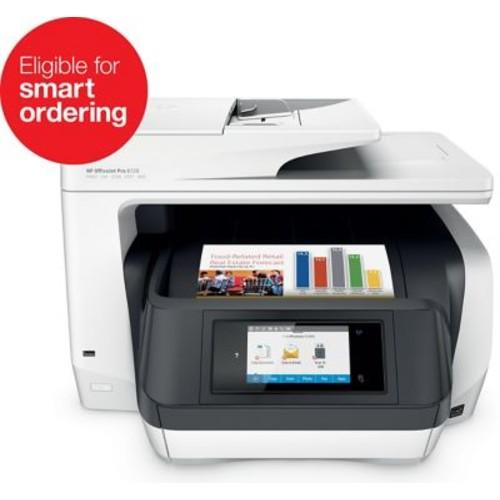 HP OfficeJet Pro 8720 All-in-One Inkjet Printer, White