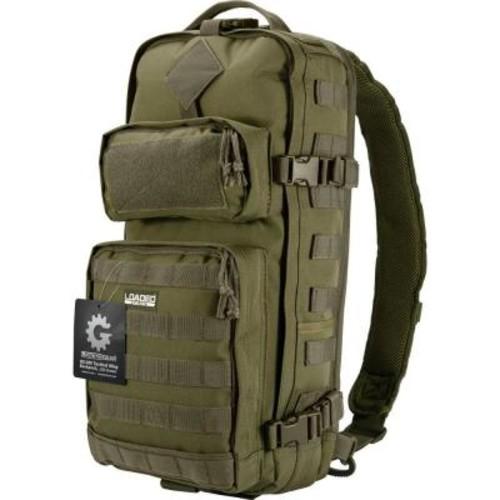 BARSKA Loaded Gear 13 in. GX-300 Tactical Sling Backpack, Olive Drab Green