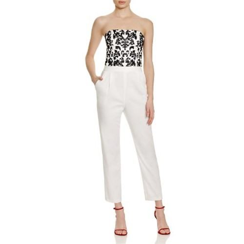ALICE AND OLIVIA Jeri Beaded Jumpsuit