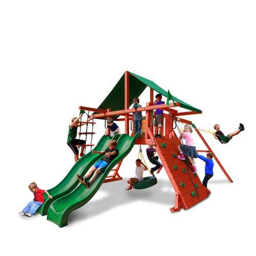 Gorilla Playsets Sun Valley Deluxe Swing Set