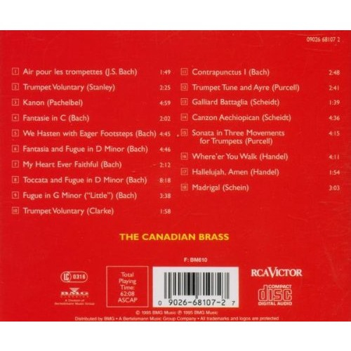 Go For Baroque! - The Canadian Brass