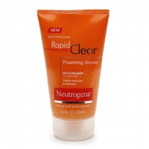 Neutrogena Rapid Clear Foaming Scrub Acne Treatment