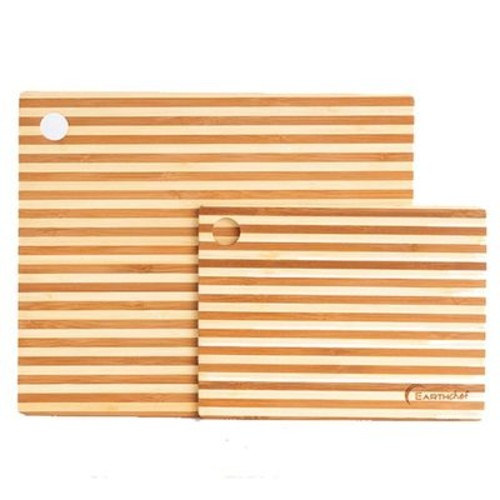 2 Piece Bamboo Cutting Board
