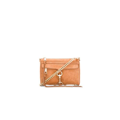Rebecca Minkoff Mini Mac Crossbody Bag in Almond