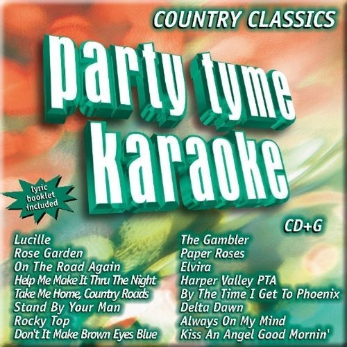 Party Tyme Karaoke: Country [CD]
