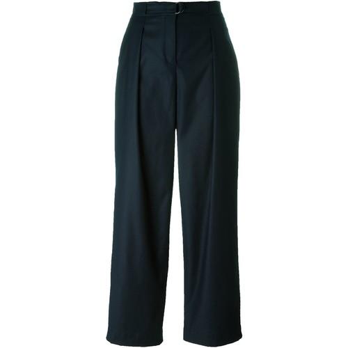 AKRIS high waist wide leg trousers