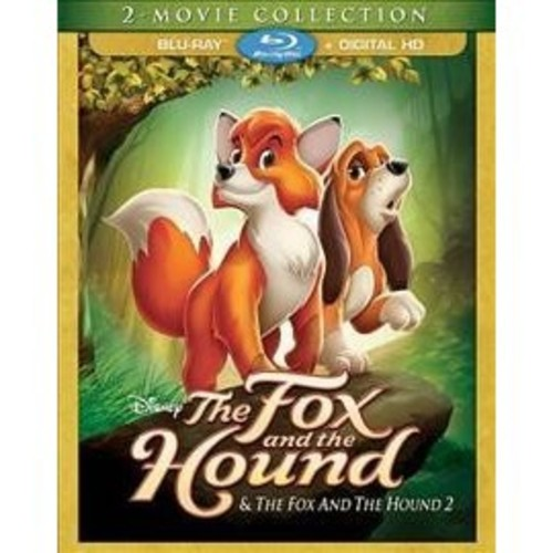 The Fox And The Hound: 2 Movie Collection [Blu-Ray] [Digital HD]