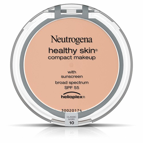 Neutrogena Healthy Skin Compact Makeup Foundation, Broad Spectrum Spf 55, Classic Ivory 10, .35 Oz. [10 / Classic Ivory]