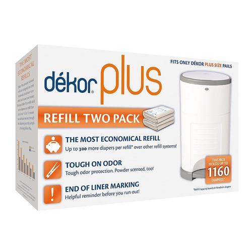 Dekor Plus Refill Two Count [2 Count]