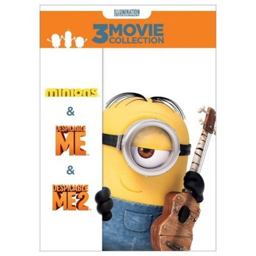 Despicable Me 3-Movie Collection [3 Discs] [DVD]