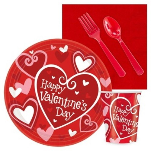 Happy Valentines Day Party Pack