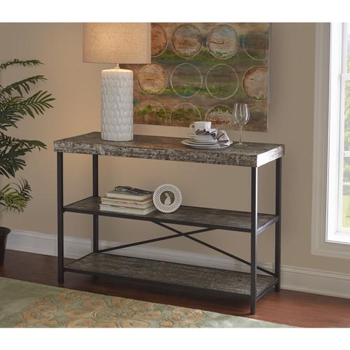 Powell Coffee, Console, Sofa & End Tables Powell Bridgeport Shelf