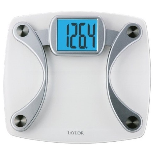 Taylor - Digital Bathroom Scale - Clear