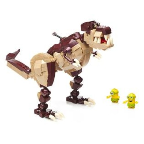 Mega Bloks Minions Dino Ride Building Kit - Despicable Me Set - 421 Piece