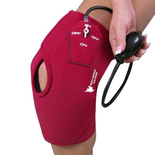 North American Healthcare burgundy - pms208 COMPRESSION KNEE WRAP - 23\