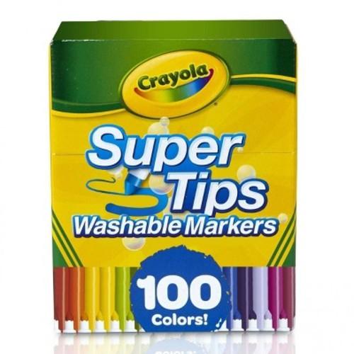 Crayola Super Tips Washable Markers 100ct