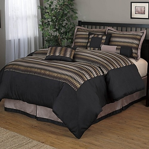 Grand Avenue Nanshing Prescott 7-Piece Queen Comforter Set