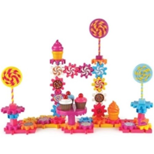 Learning Resources LER9215 Gears Sweet Shop Assorted Building Set