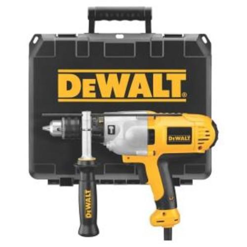DEWALT 10 Amp 1/2 in. VSR Mid-Handle Grip Hammer Drill Kit