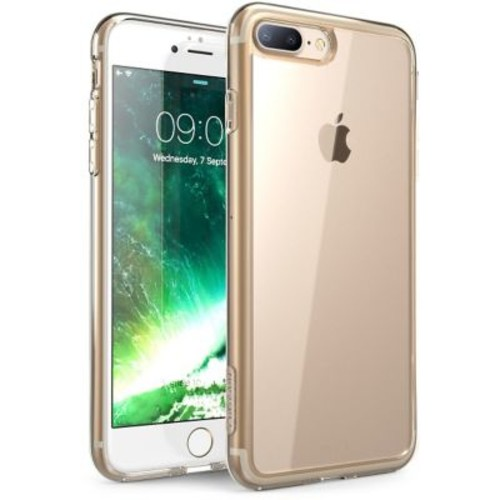 i-Blason Apple iPhone 7 Plus Halo Series Scratch Resistant Clear Case,Clear/G