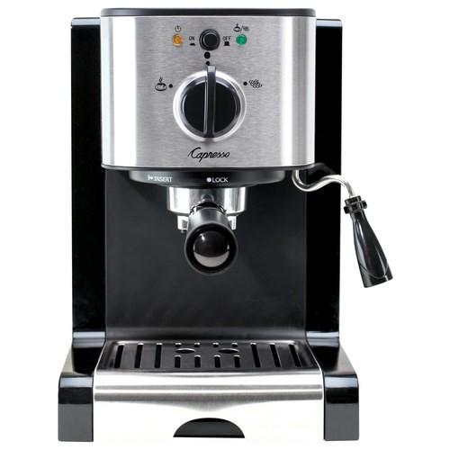 Capresso - EC100 Espresso Maker/Coffeemaker - Black/stainless steel