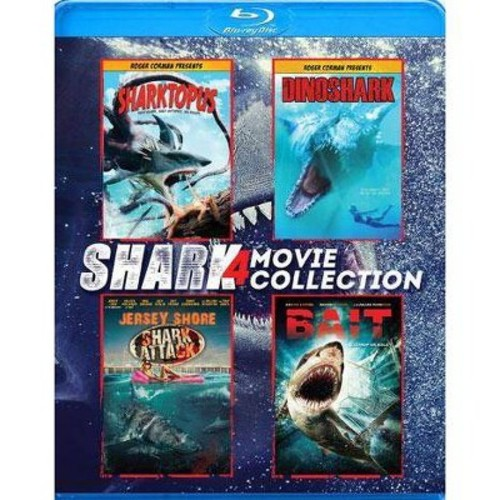 Shark 4 Movie Collection [4 Discs] [Blu-ray]