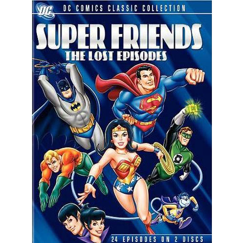 Superfriends: The Lost Episodes (DVD)