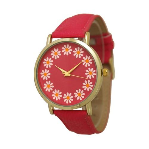 Simple Flower Print Watch