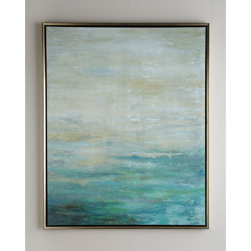As the Water Flows Giclee on Canvas Wall Art