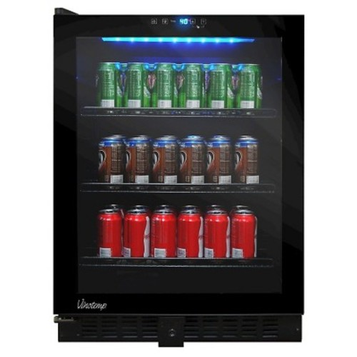 Vinotemp - 120-Can Beverage Cooler