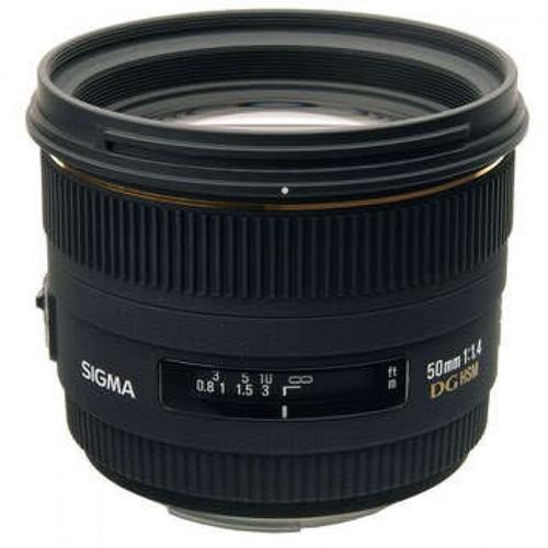 Sigma 50mm f/1.4 EX DG HSM AF Lens for Nikon SLR