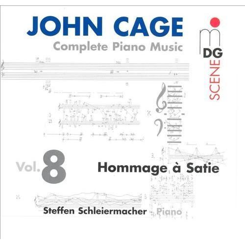 Cage: complete Piano Music Vol.08 CD (2002)