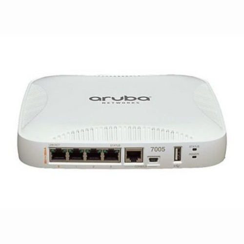Aruba 7005 4-Port Gigabit Ethernet Wireless LAN Controller