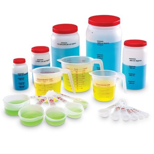 Learning Resources Classroom Liquid Measuring Set