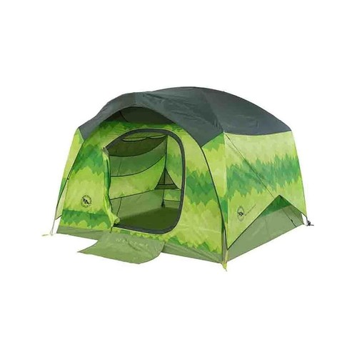 Big Agnes Big House 4 Deluxe Stealth Tent, Zipperless TBH4DLXS18 w/ Free Shipping