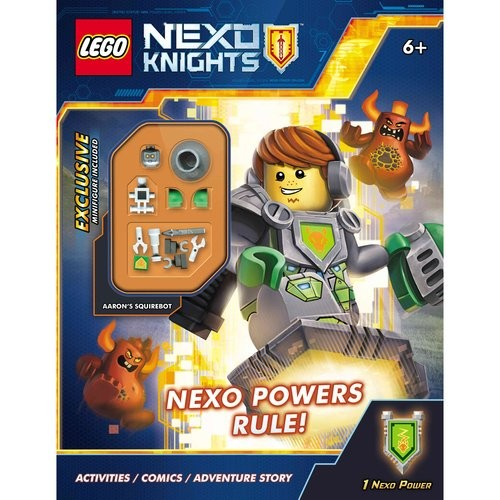Nexo Powers Rule!: Lego Nexo Knights: Activity Book With Minifigure