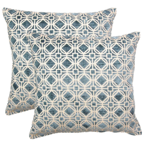 Decorative Carlie Floral 20-inch Throw Pillow [option : Polyester]