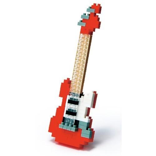 Nanoblock Electric Guitar- Red [Electric Guitar- Red]