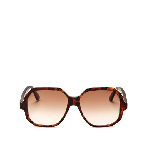 SAINT LAURENT Oversized Square Sunglasses, 55Mm