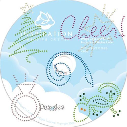 Pazzles CD50 Rhinestone Image CD
