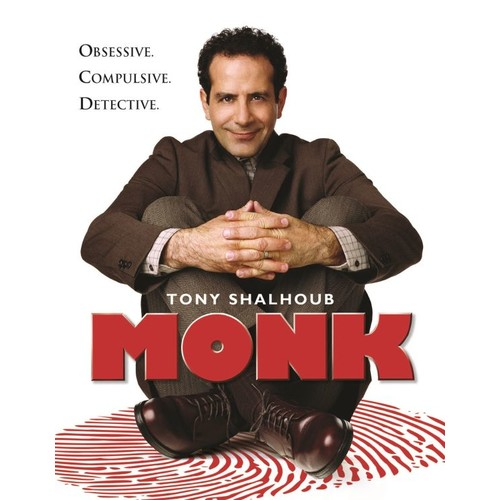Monk: The Complete Series [32 Discs] [DVD]