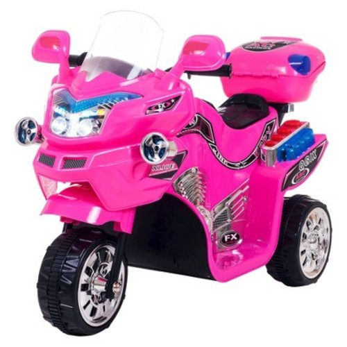 Lil' Rider FX 3 Wheel Battery Powered Riding Bike - Pink (14.11 Lb)
