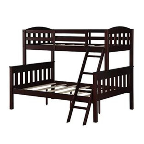Dorel Living Airlie Bunk Bed, Espresso, Twin/Full