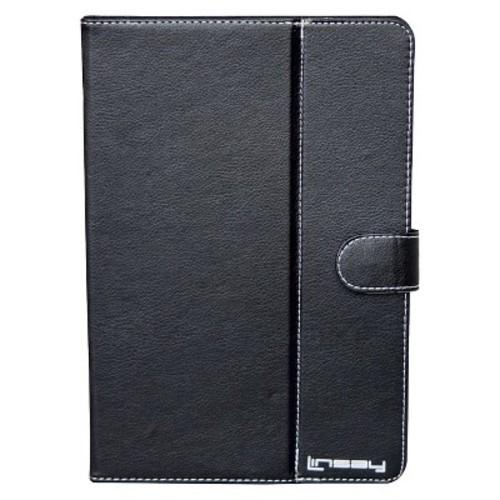 LINSAY TPCC10US 10.1-inch Blended Leather Tablet PC Case - Black