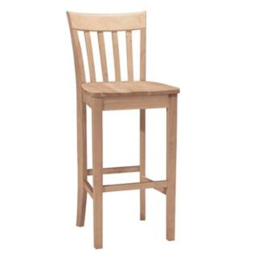 International Concepts Slatback stool 30