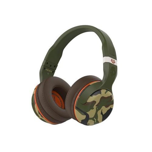 Skullcandy Bluetooth Hesh - Camo Wireless Bluetooth Headphones