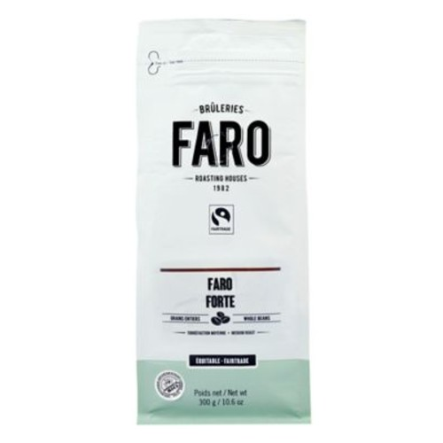 Faro Forte Espresso Blend Whole Coffee Beans (10oz) Classic Delicious Neapolitan Blend Coffee, Certified Organic and Fair Trade